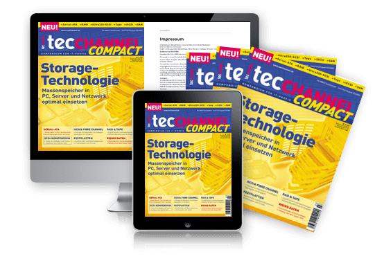 tecCHANNEL-Compact Storage-Technologie