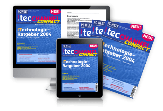 tecCHANNEL-Compact ITechnologie-Ratgeber 2004