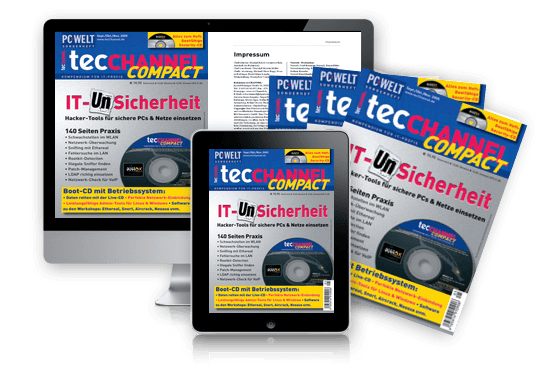 tecCHANNEL-Compact IT (Un)Sicherheit